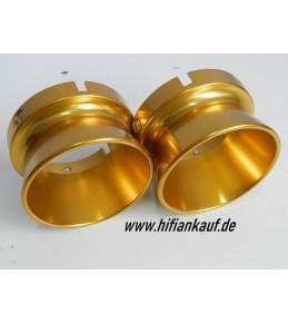 ALUMINIUM Kelche-NAB Adapter GOLD - FÜR revox-pioneer USW